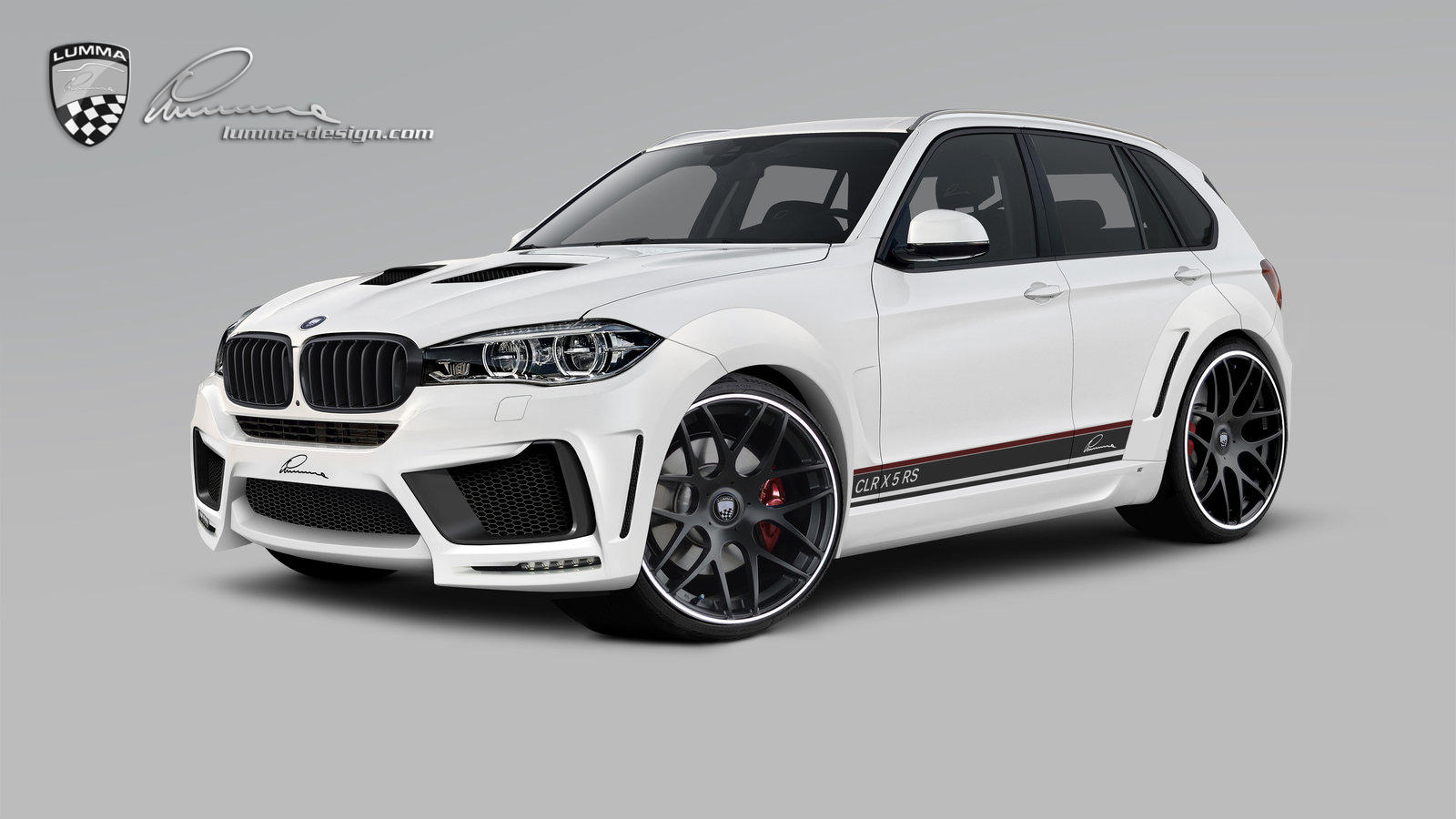 la nouvelle bmw x5 d j pr par e par lumma design. Black Bedroom Furniture Sets. Home Design Ideas