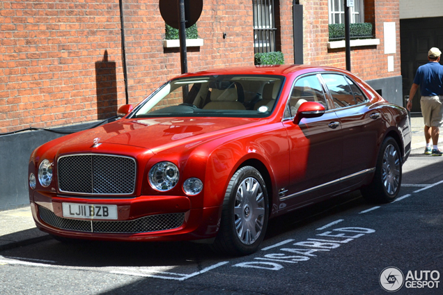 The Bentley Mulsanne S Very Limited: Spotted: Very Beautiful Bentley Mulsanne 2009