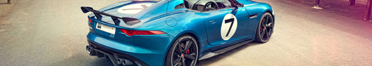Jaguar Land Rover Special operations shows new car on Goodwood