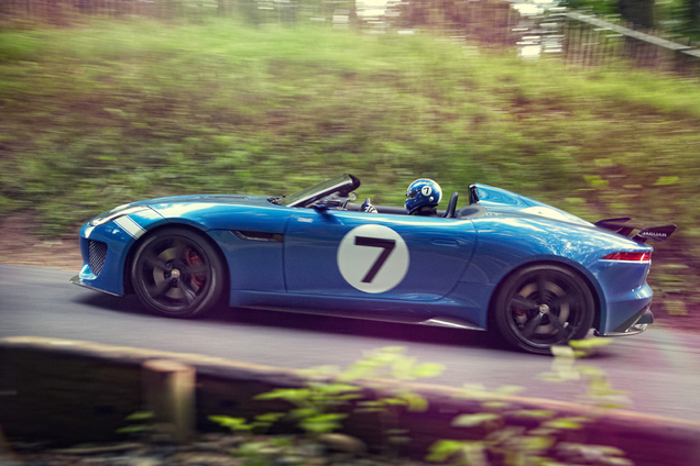 Jaguar Land Rover Special operations toont nieuwe auto op Goodwood