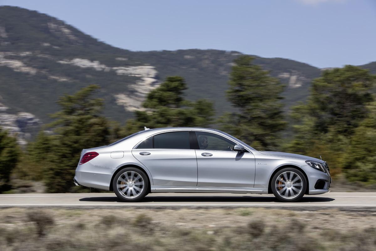 Officieel: de nieuwe Mercedes-Benz S 63 AMG