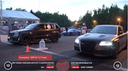 Movie: 1350 hp strong Jeep Grand Cherokee SRT-8 on DragTimes
