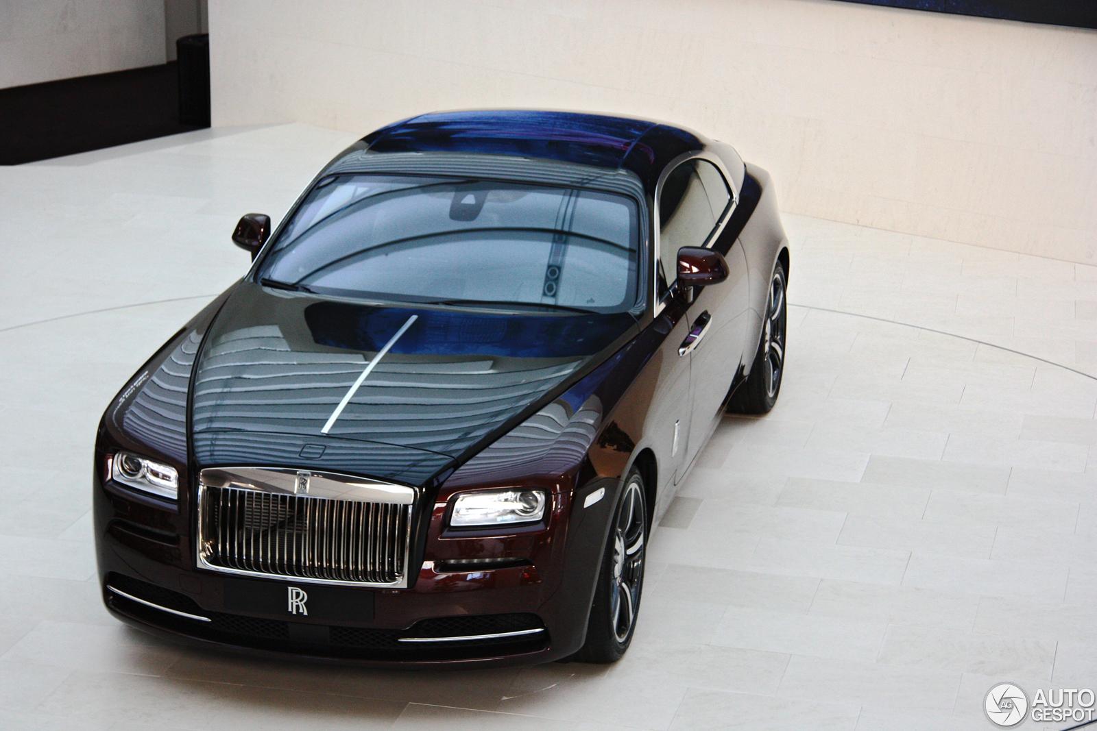 Rolls Royce Wraith 0 60 >> BMW shows beautiful Rolls-Royce Wraith at BMW-Welt