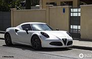 Avistado en Israel: Alfa Romeo 4C Launch Edition