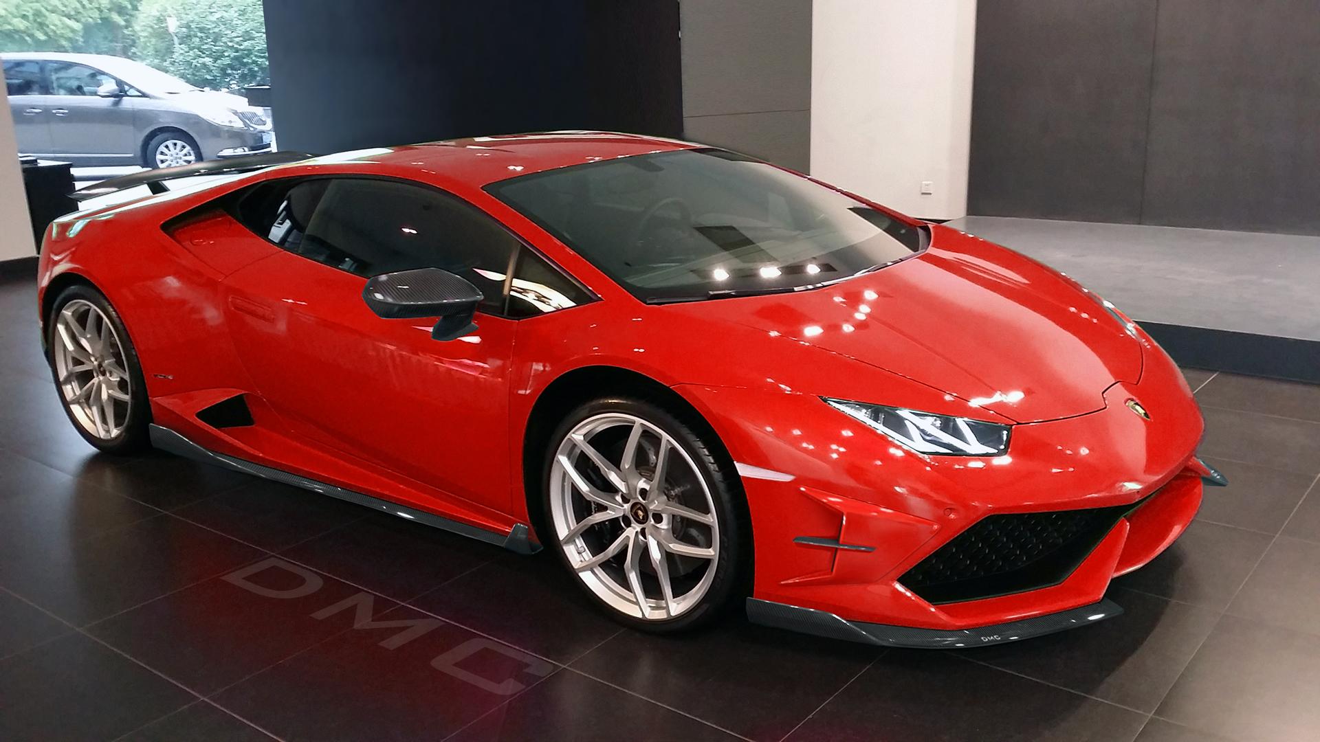 Oldest Lamborghini Ever >> DMC Luxury shows the Lamborghini Huracán LP610-4 Affari