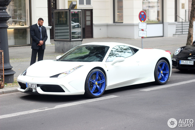 ferrari 458 speciale looks really special with these wheels - Ferrari 458 Gold Wheels