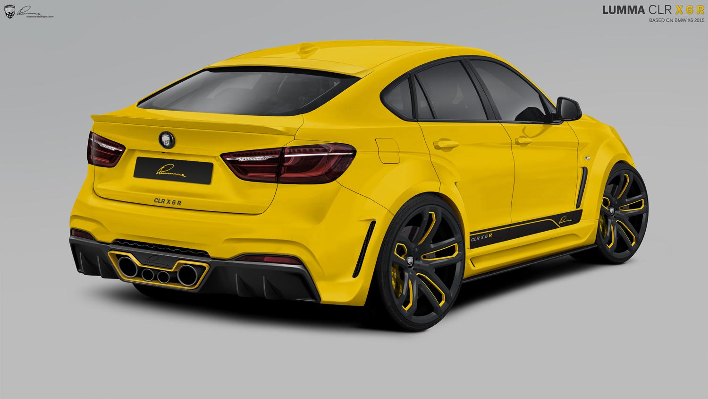 New Bmw X6 By Lumma Design