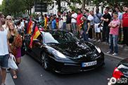 Navijači Nemačke u Berlinu slave pobedu nad Francuskom