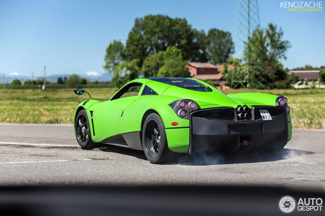 Pagani Huayra SE will be unique