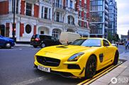 Mercedes-Benz SLS AMG Độ Phong Cách Black Series