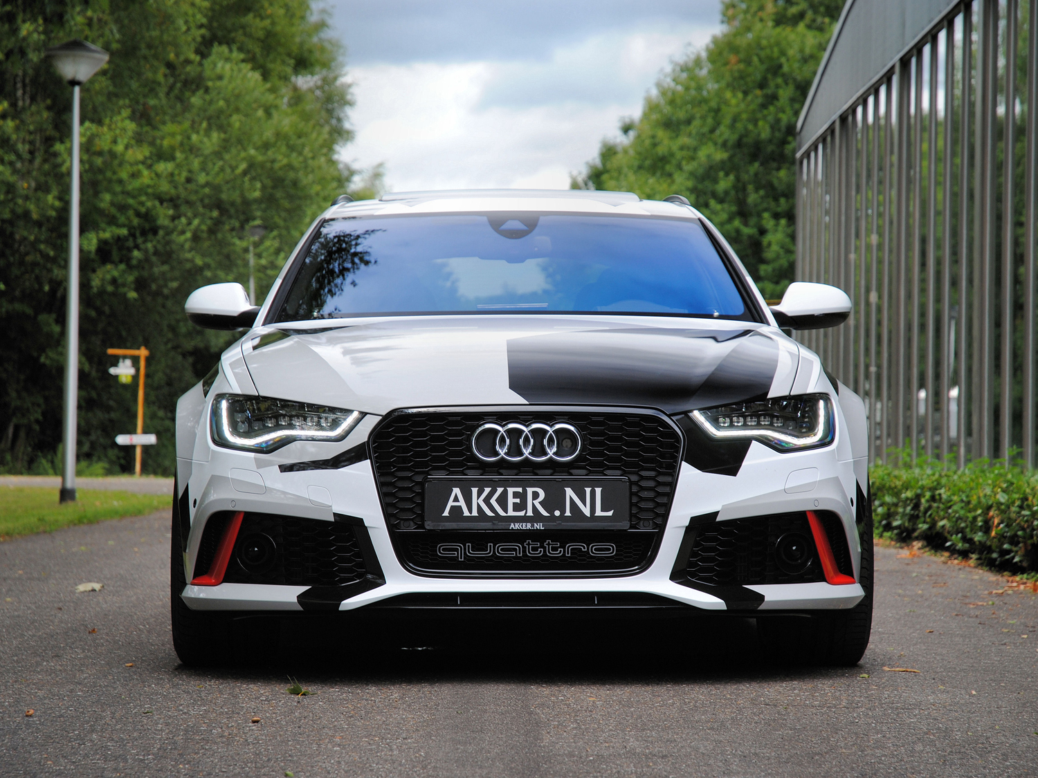 Exact copy of Jon Olsson's RS6 is driving around in the Netherlands!