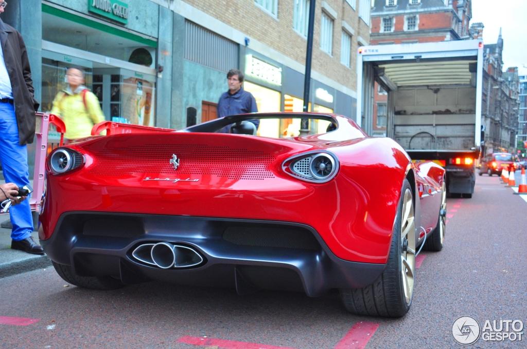 Special Ferrari Pininfarina Sergio Concept Spotted In London