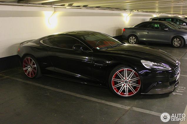 A Set Of Vellano Wheels Completes This Aston Martin Vanquish