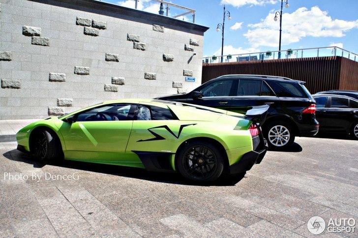 Green Lamborghini Murcielago Lp670 4 Sv Is Refreshing