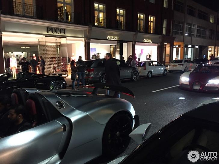 Porsche 918 Spyder is in Londen amper bijzonder