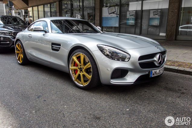Lorinser Wheels Look Great On The Mercedes Amg Gt