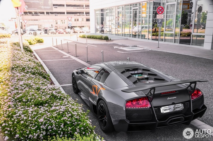 Grey Lamborghini Murcielago Lp670 4 Sv Is Just A Beauty