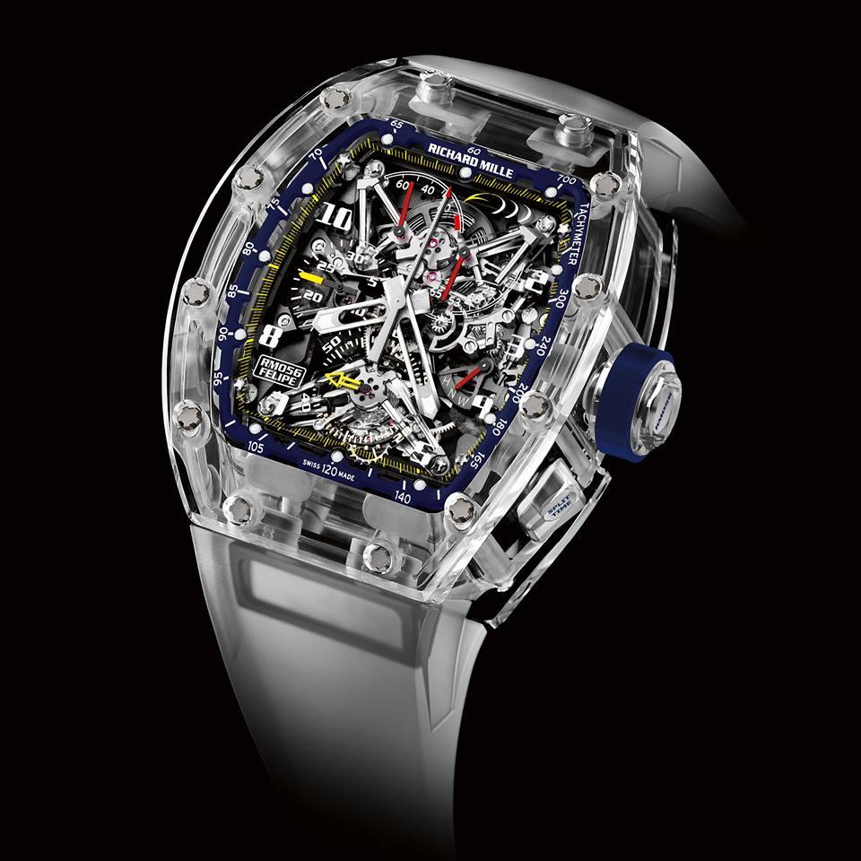 Felipe Massa en horlogemaker Richard Mille slaan handen ineen