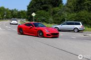 Sexy and wide, the Ferrari California T N-Largo