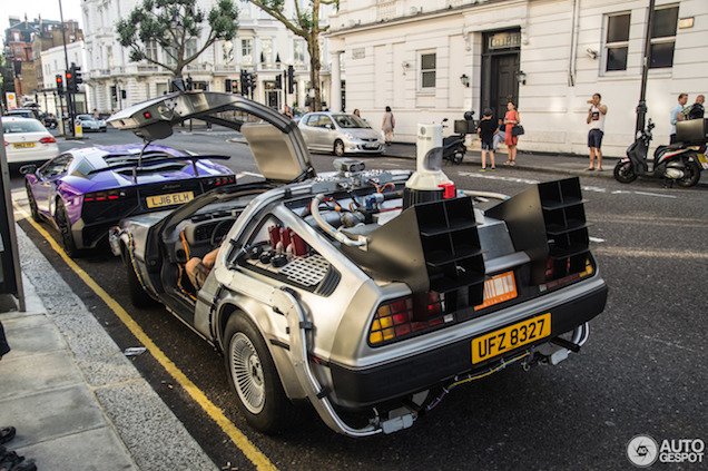 Back to the Future in Londen: DeLorean DMC-12