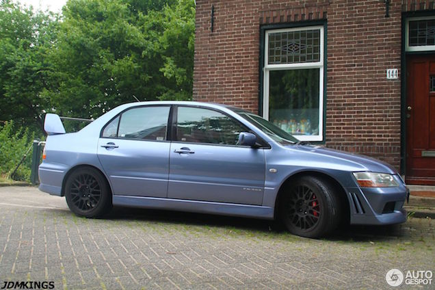 Even iets anders: Mitsubishi Lancer Evolution VIII FQ-300