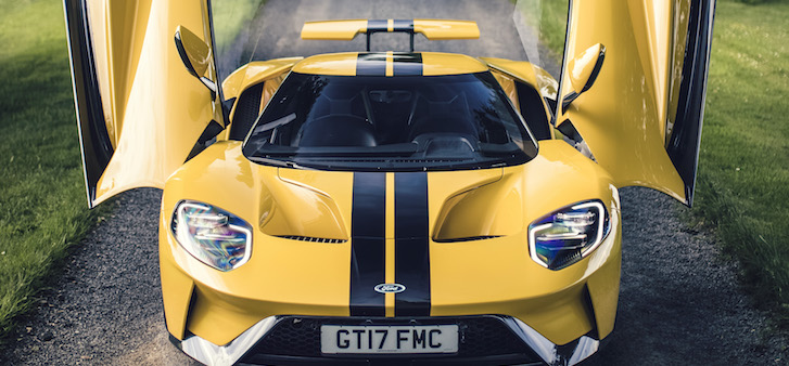 The new Ford GT is a driving computer