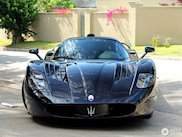 Spotted: The one and only black Maserati MC12
