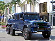 Brabus B63S 700 6x6 out of place on Rodeo Drive