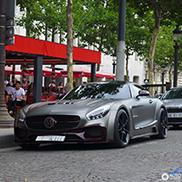 巴黎超吸睛超跑: Mansory AMG GT