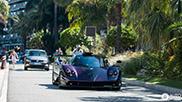 Lewis Hamilton and Justin Bieber driving around in Monaco