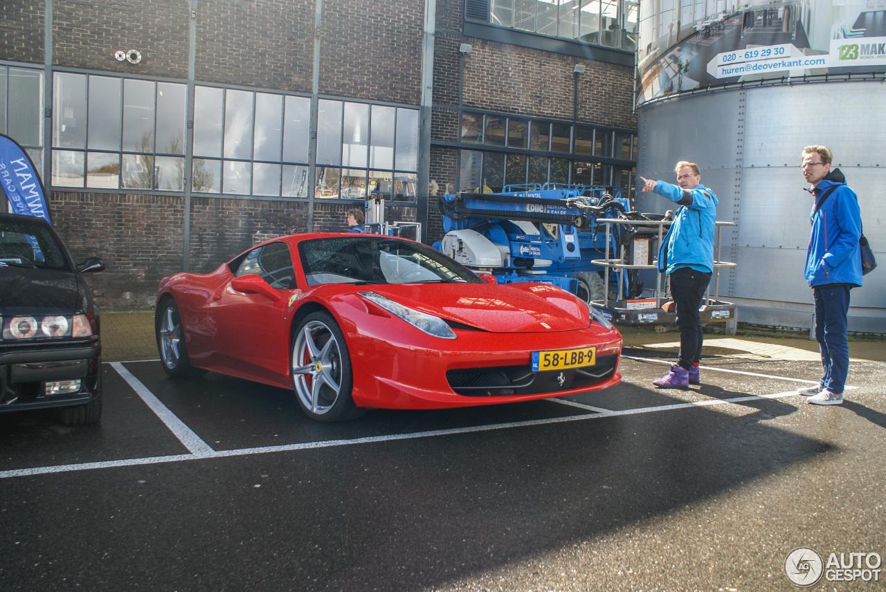 's Lands oudste: Ferrari 458 Italia