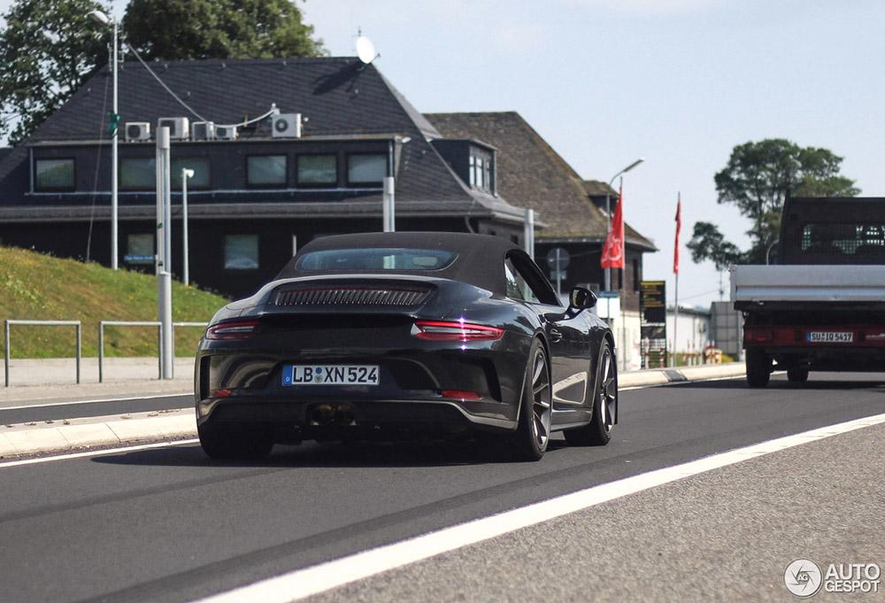 De Porsche GT3 Touring Cabriolet komt eraan