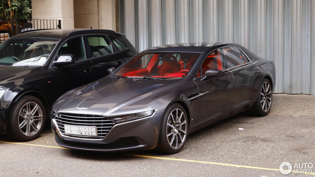Aston Martin Lagonda Taraf doet Londen aan