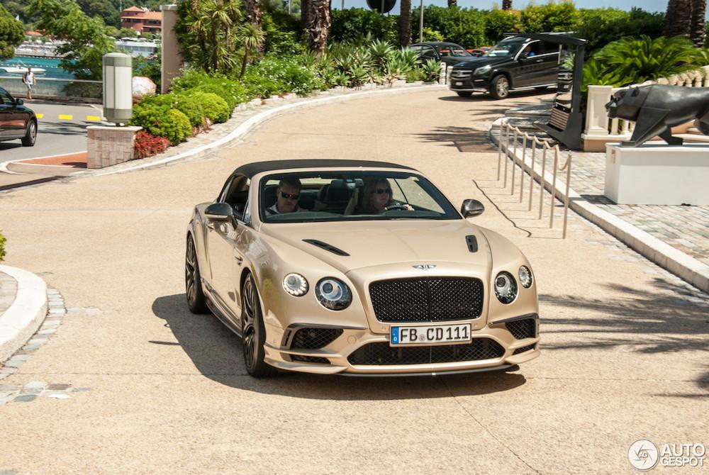 Deze Bentley Continental Supersports komt chique voor de dag!
