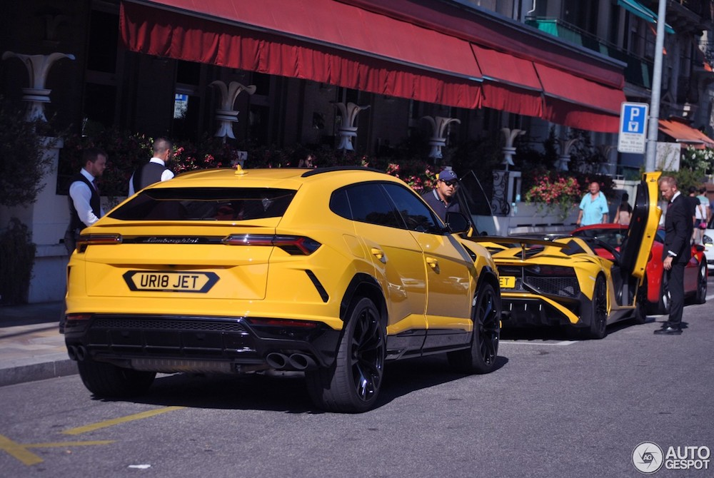 Gespot: Lamborghini-combo in Genève