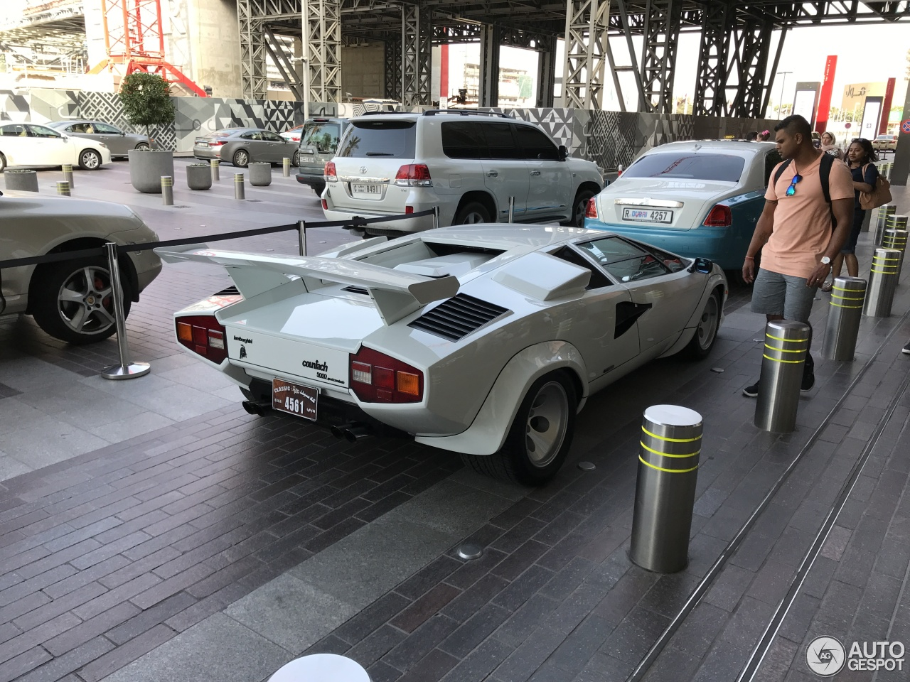 Lamborghini Countach in Dubai