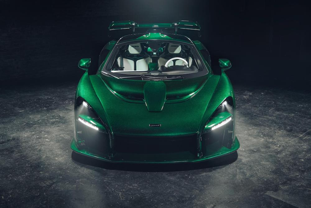 McLaren delivers Senna to its first US customer!