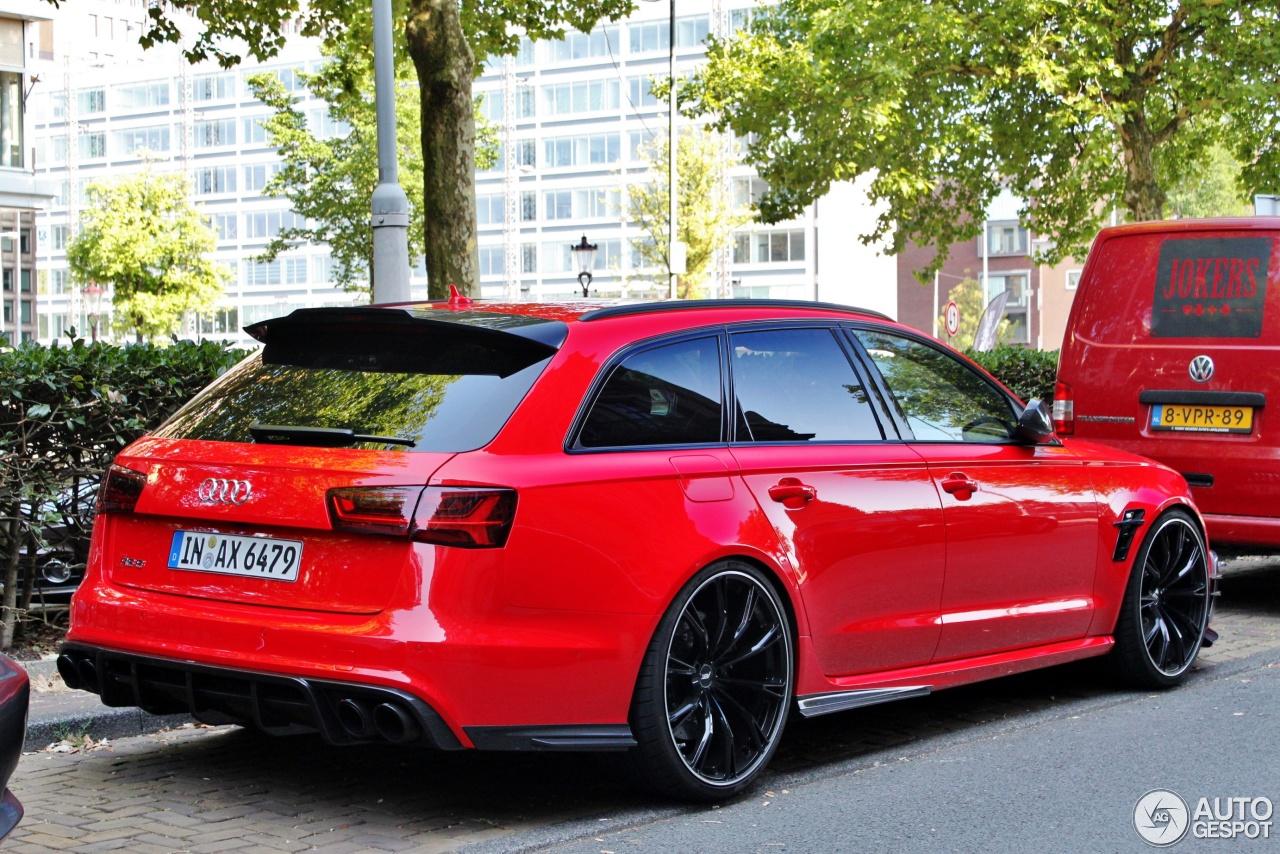 Tuner gespot: Audi ABT RS6+ Avant C7