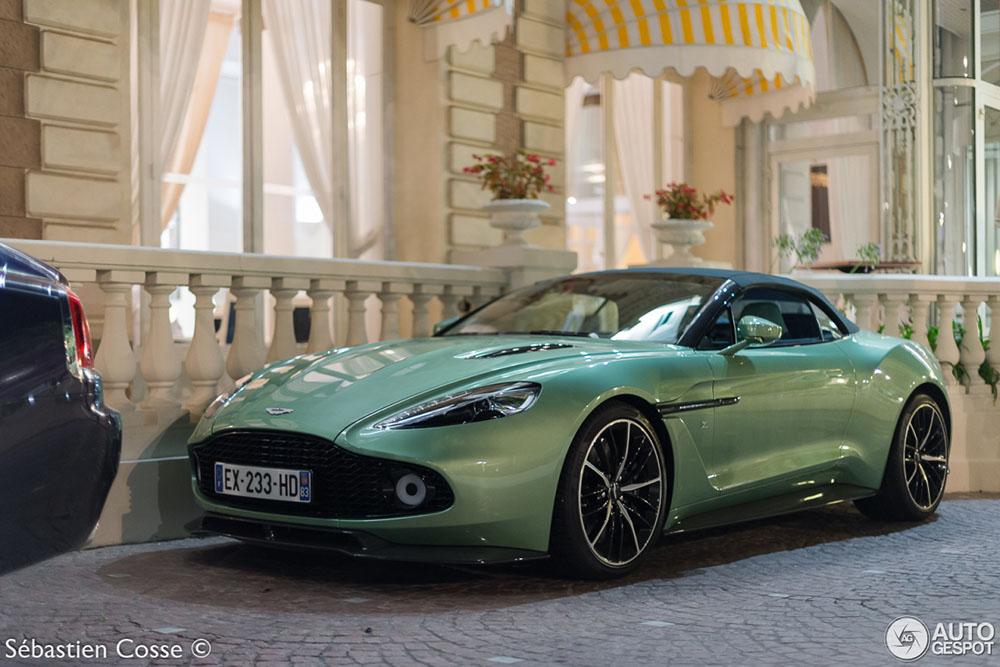 Dat is er weer één bij: Aston Martin Vanquish Volante Zagato