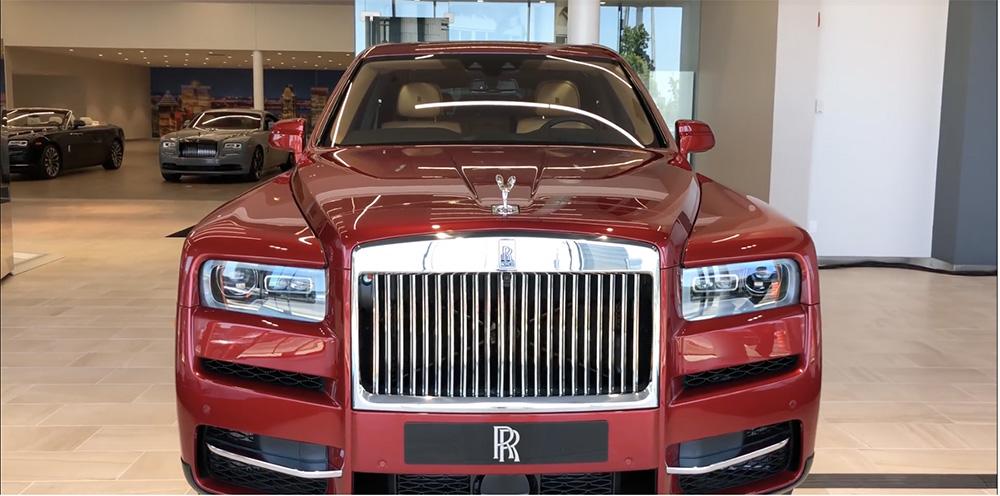 Filmpje: bekijk de Rolls-Royce Cullinan Launch Edition in detail