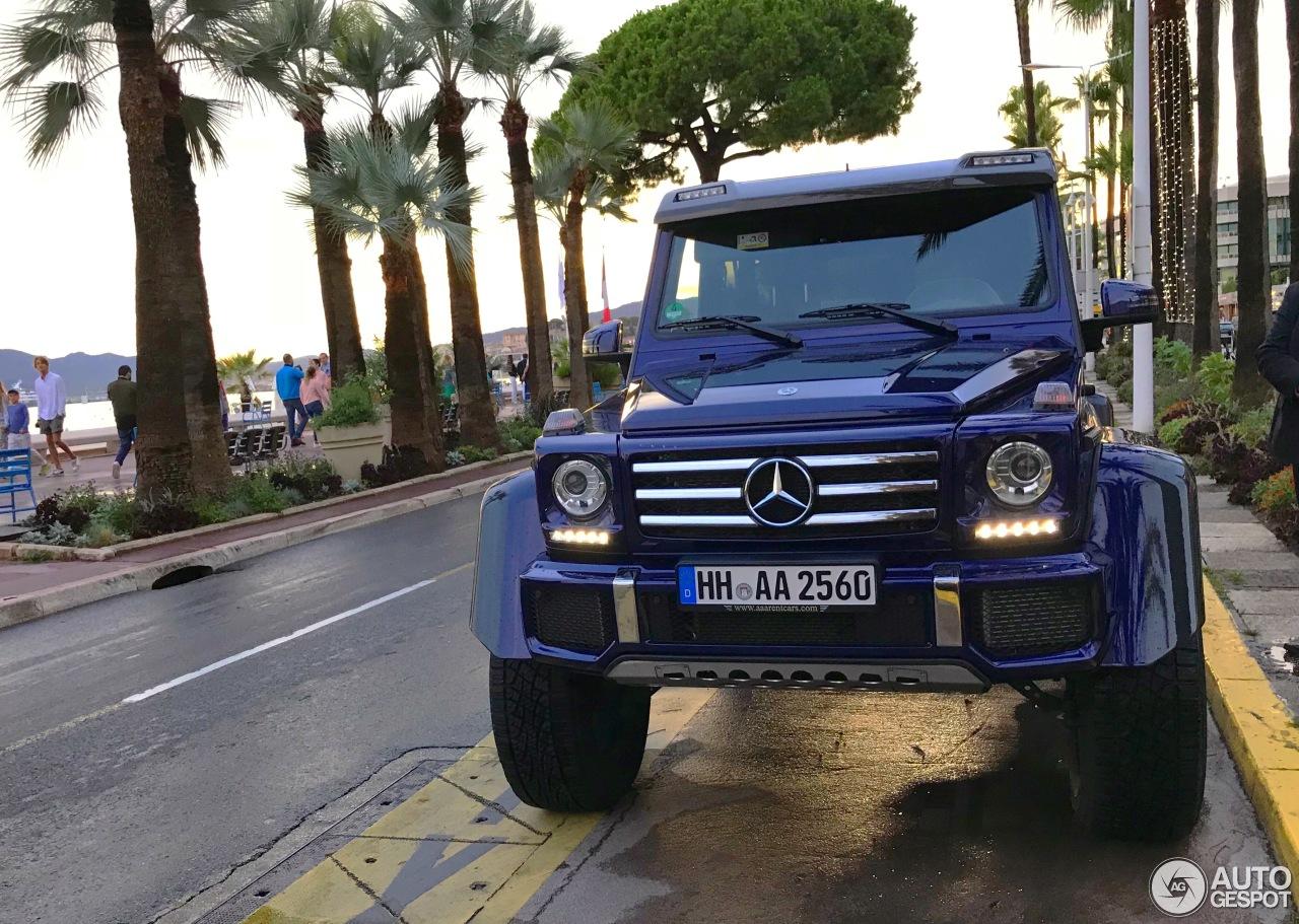 轮子上的大房子:马赛地 G 500 4x4²
