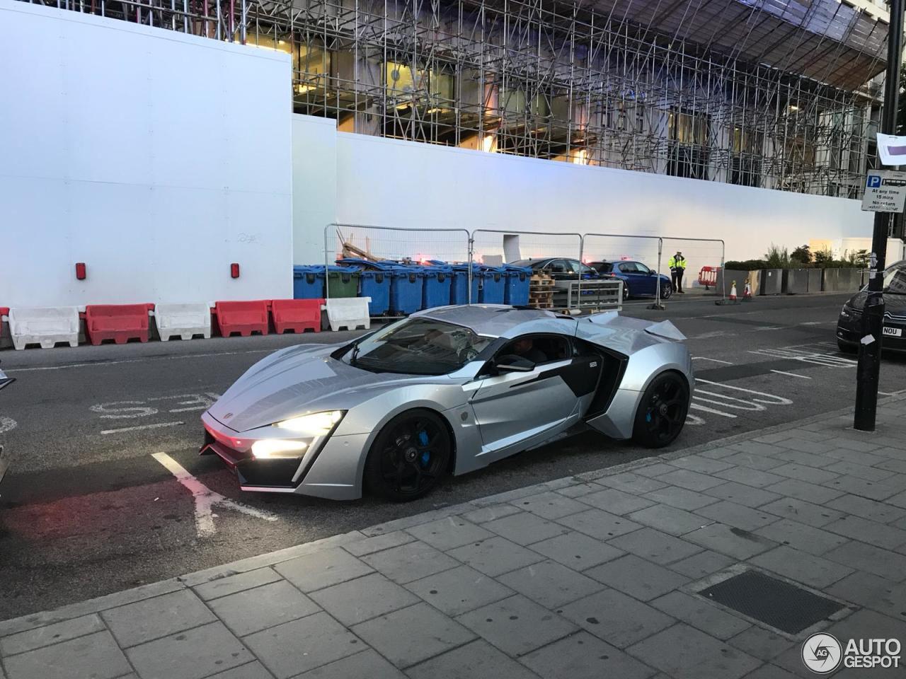 W Motors Lykan Hypersport ook in Londen gesignaleerd