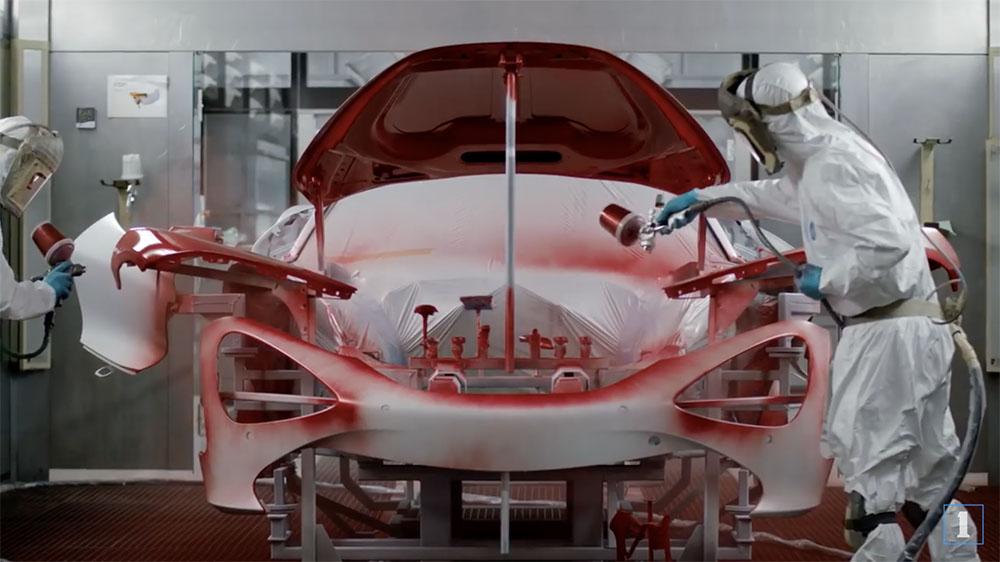 Filmpje: zo worden McLaren's gebouwd
