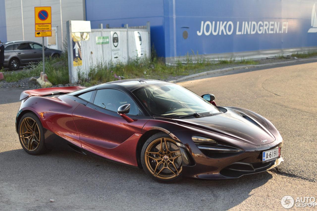 McLaren 720S Velocity laat zijn unieke kleuren eindelijk zien