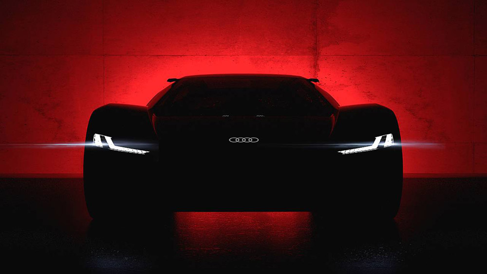 Audi PB18 E-tron moet Pebble Beach overheersen