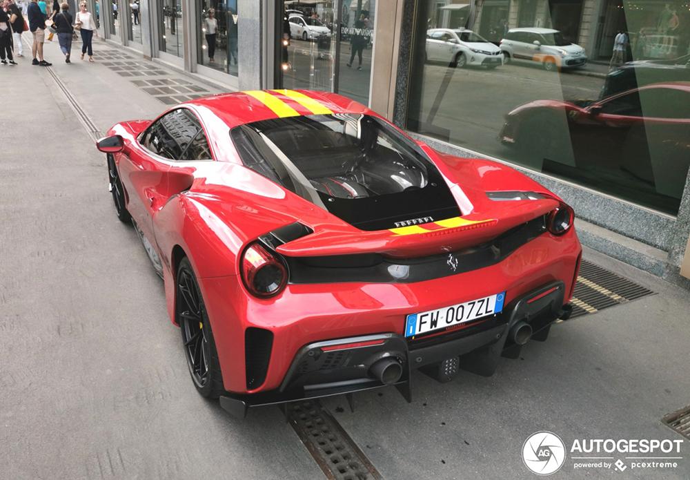 I'm lovin it: Ferrari 488 Pista
