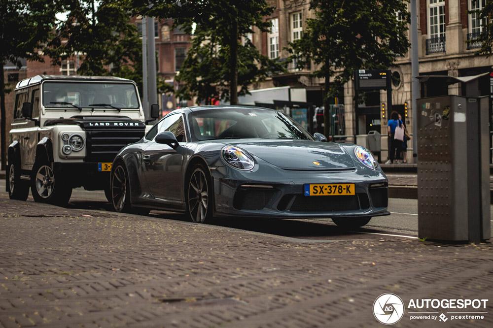 Spot van de dag: Porsche 991 GT3 MkII Touring