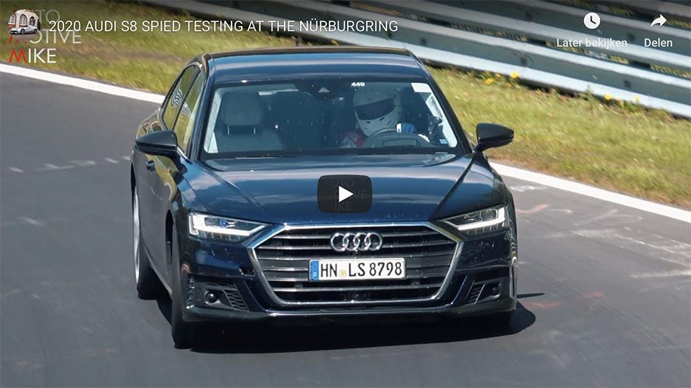 Filmpje: en zo klinkt de nieuwe Audi S8