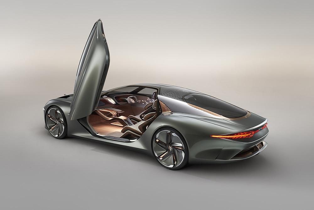 Bentley kijkt naar de toekomst met de EXP 100 GT