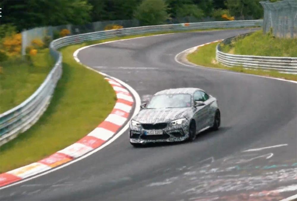 BMW M2 CS wordt tot het uiterste gedreven op de Nürburgring